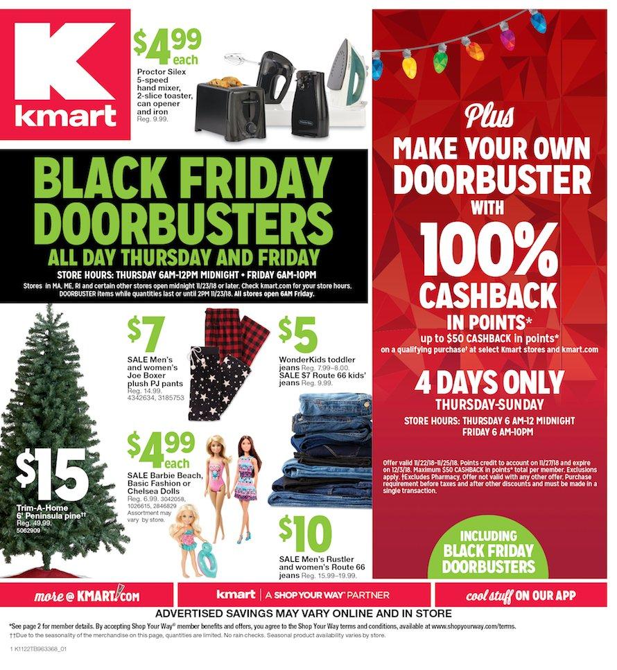 Kmart Black Friday 2018 Page 1