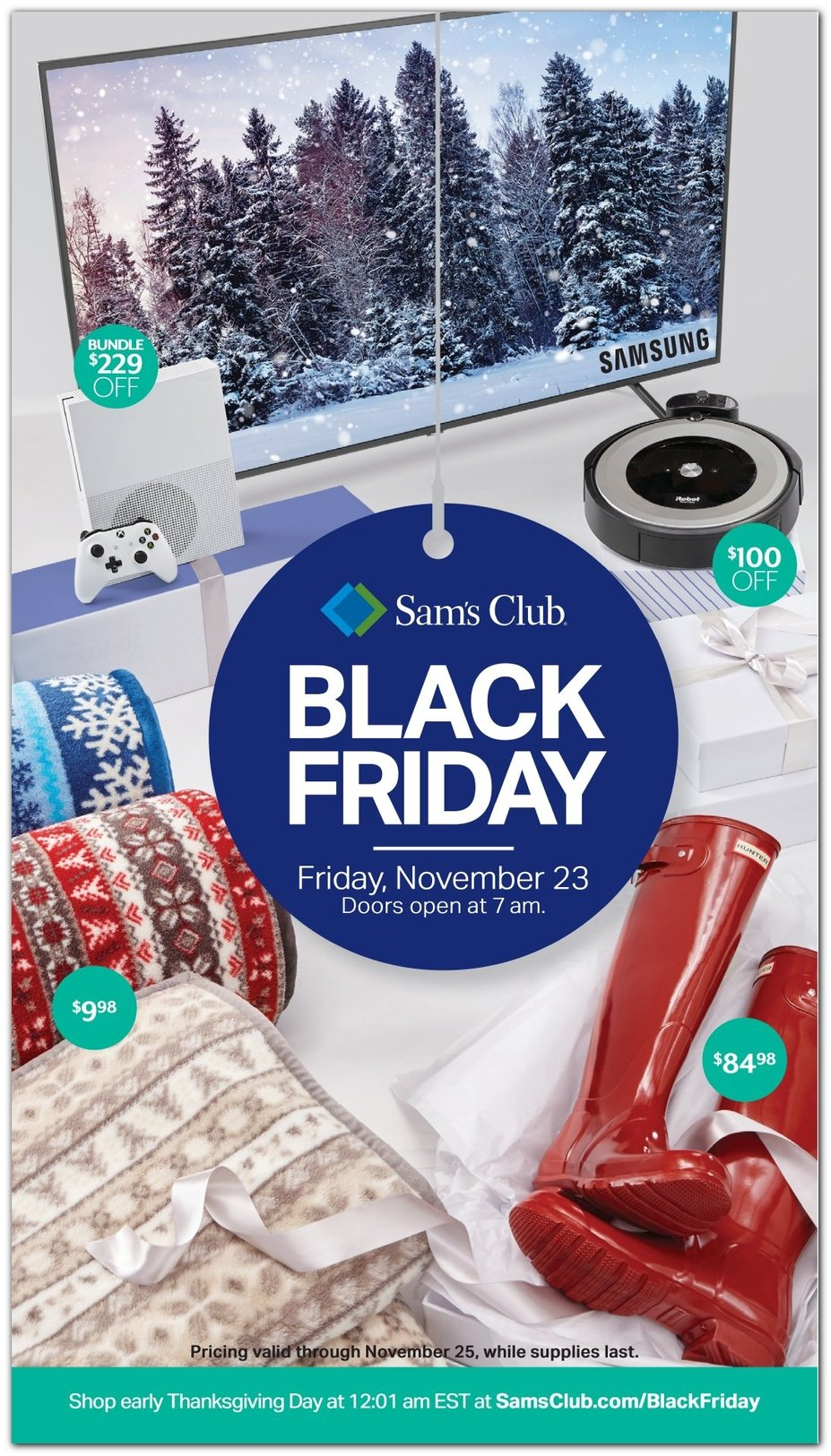 Sam's Club Black Friday 2018 Page 1