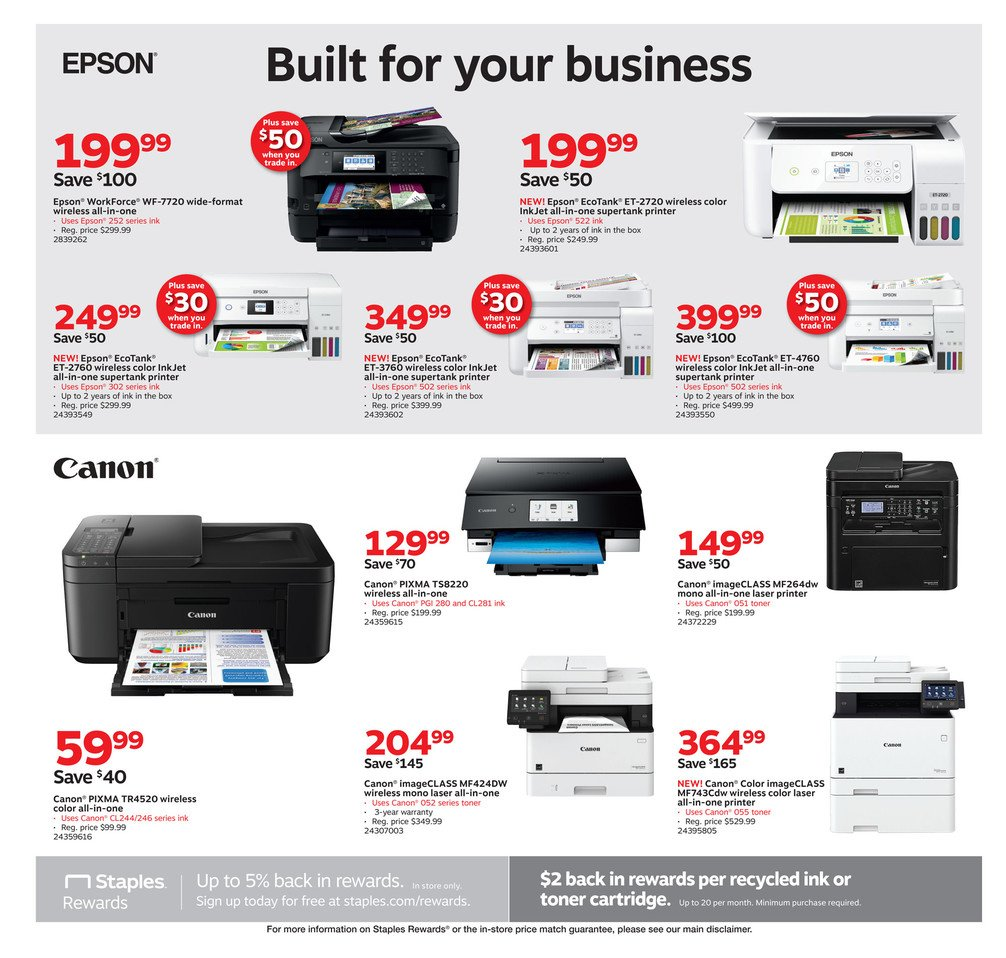 Staples Weekly September 1 - 7, 2019 Page 2