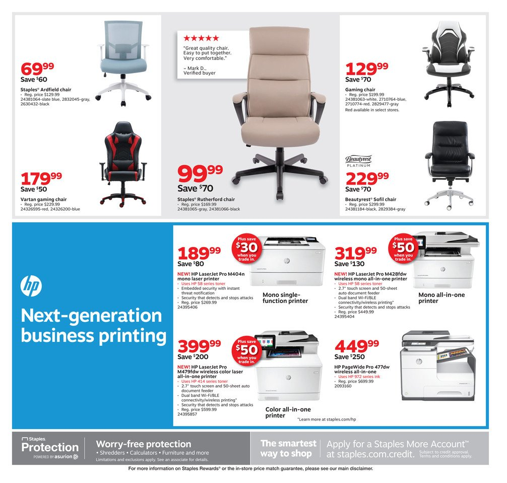 Staples Weekly September 1 - 7, 2019 Page 3