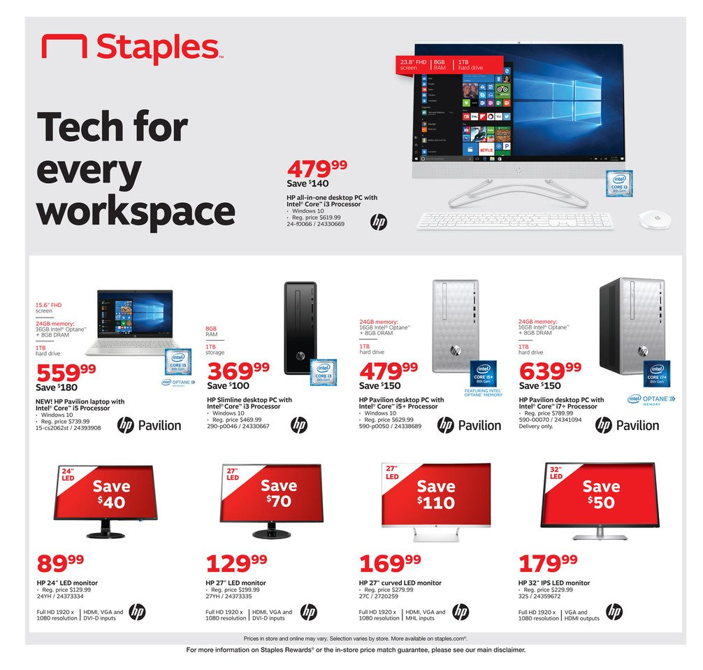 Staples Weekly September 1 - 7, 2019 Page 8