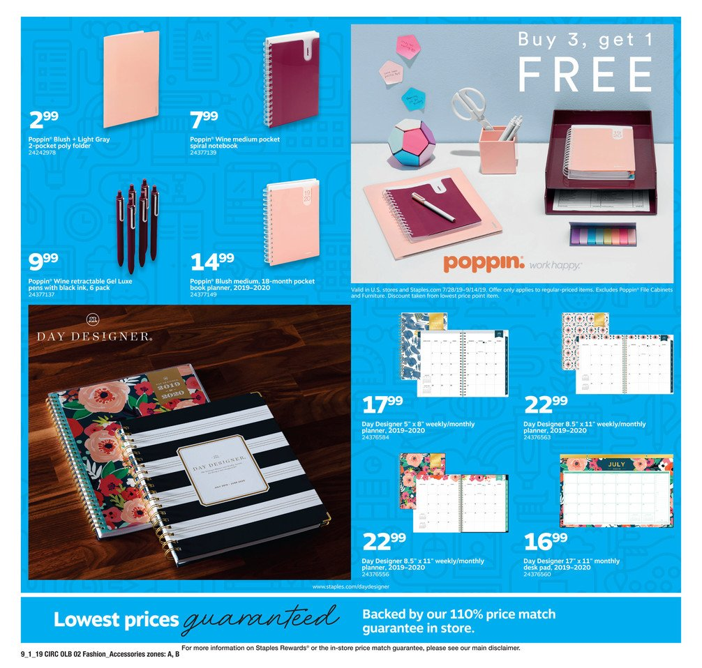Staples Weekly September 1 - 7, 2019 Page 10
