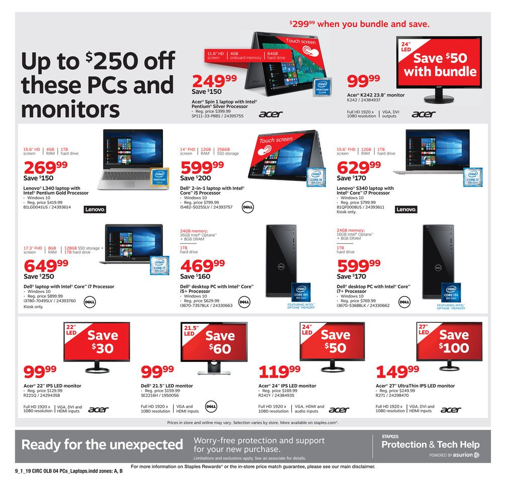 Staples Weekly September 1 - 7, 2019 Page 12