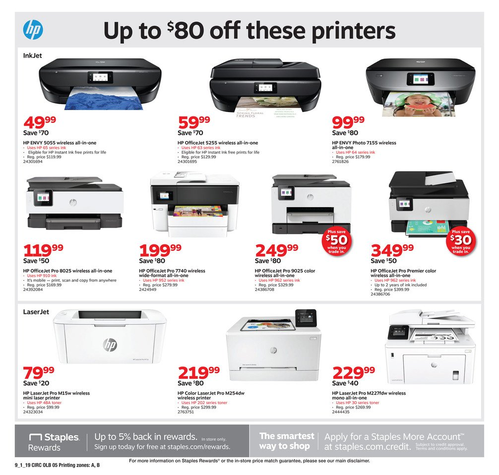 Staples Weekly September 1 - 7, 2019 Page 13