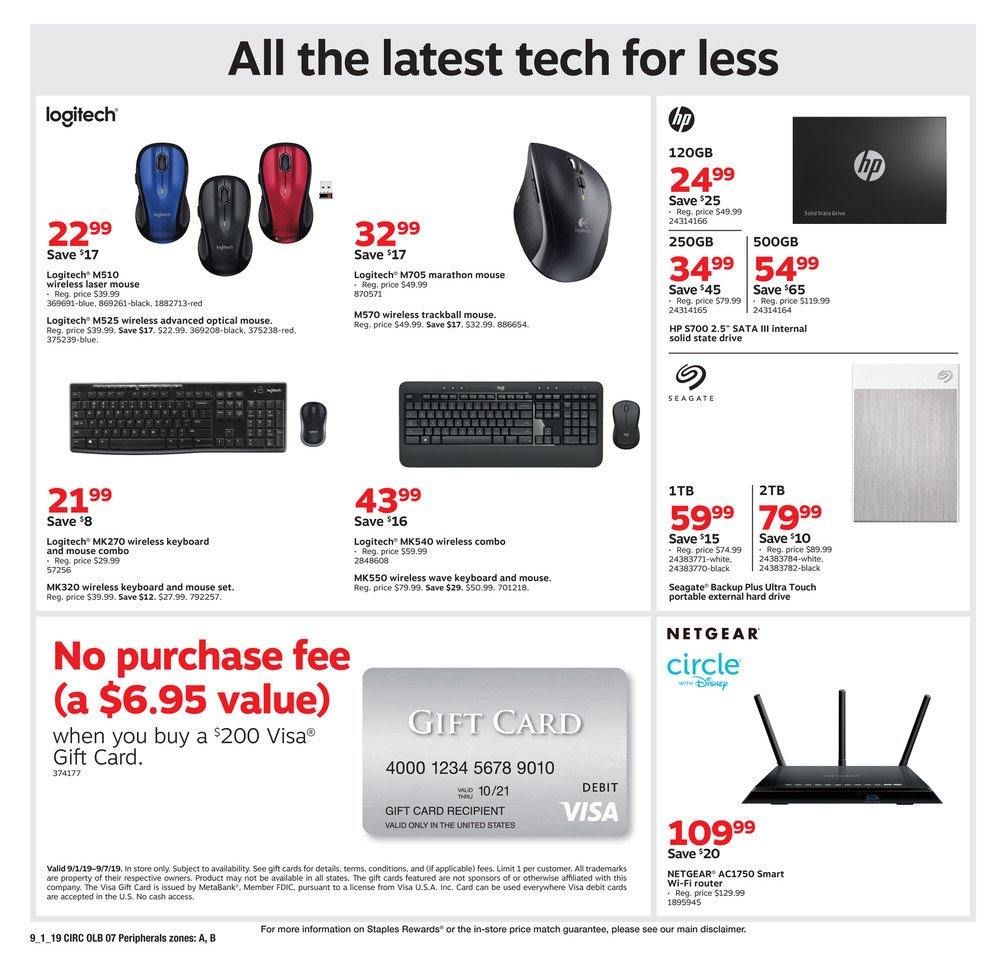 Staples Weekly September 1 - 7, 2019 Page 15