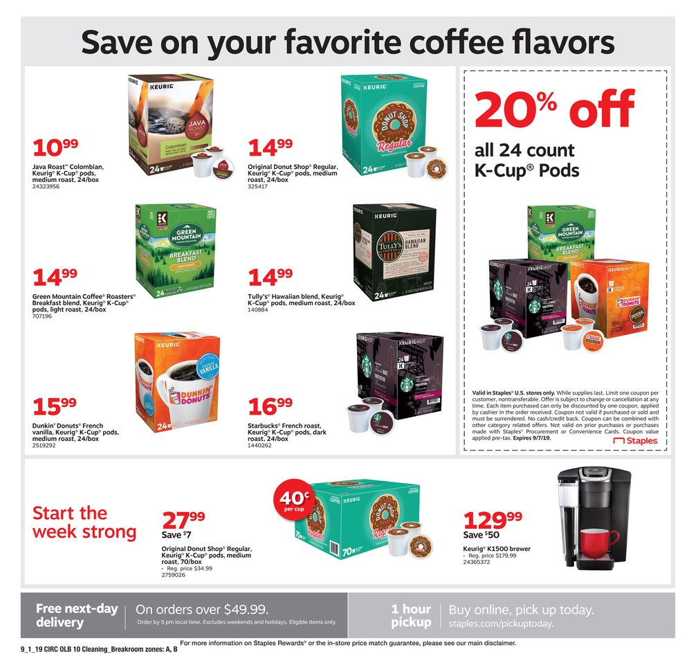 Staples Weekly September 1 - 7, 2019 Page 18