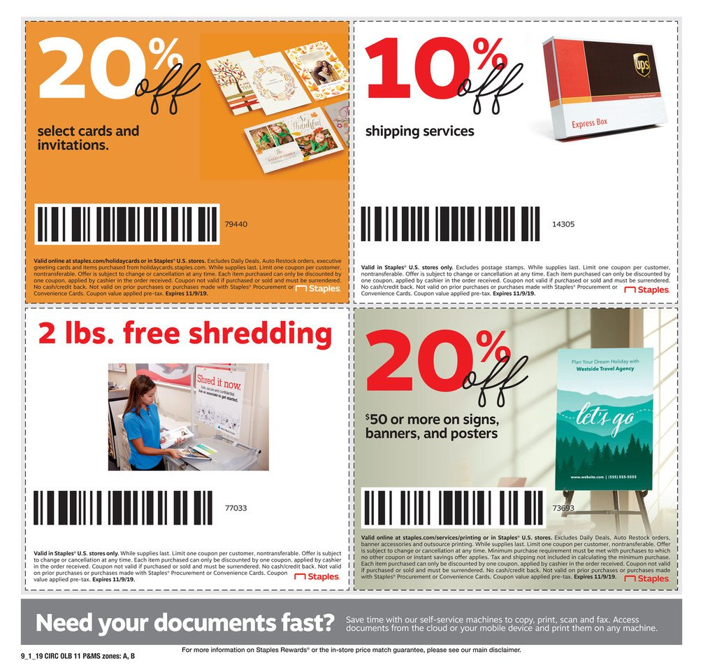 Staples Weekly September 1 - 7, 2019 Page 19