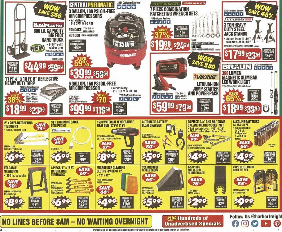 Harbor Freight Black Friday 2019 Page 8
