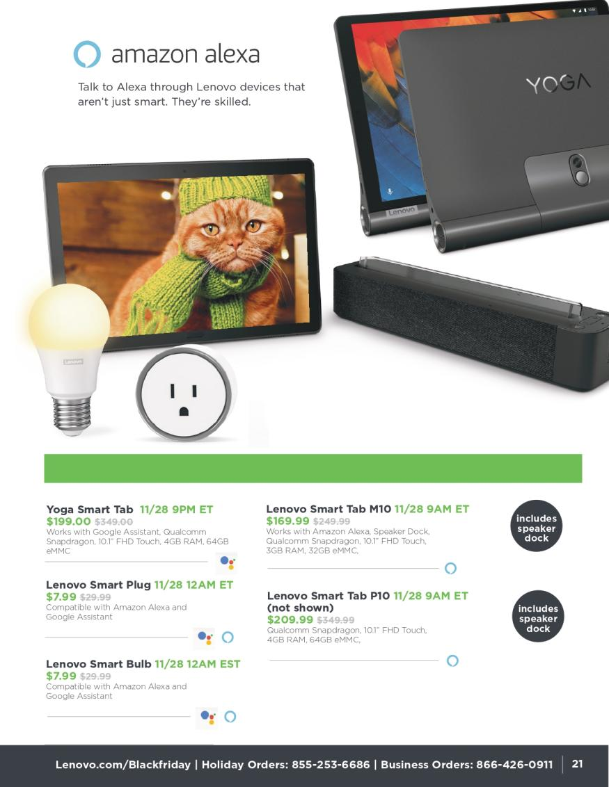 Lenovo Black Friday and Cyber Monday 2019 Page 21