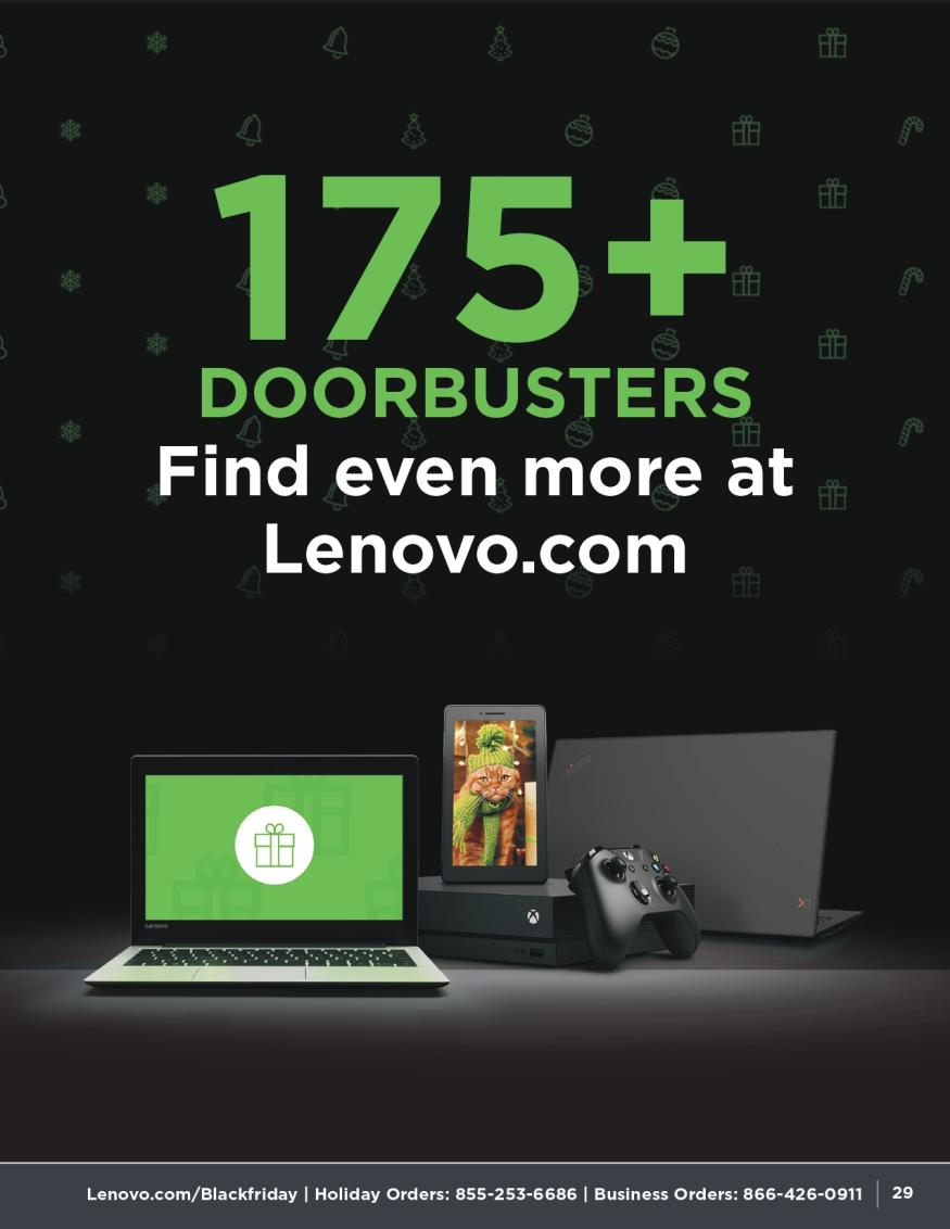 Lenovo Black Friday and Cyber Monday 2019 Page 29