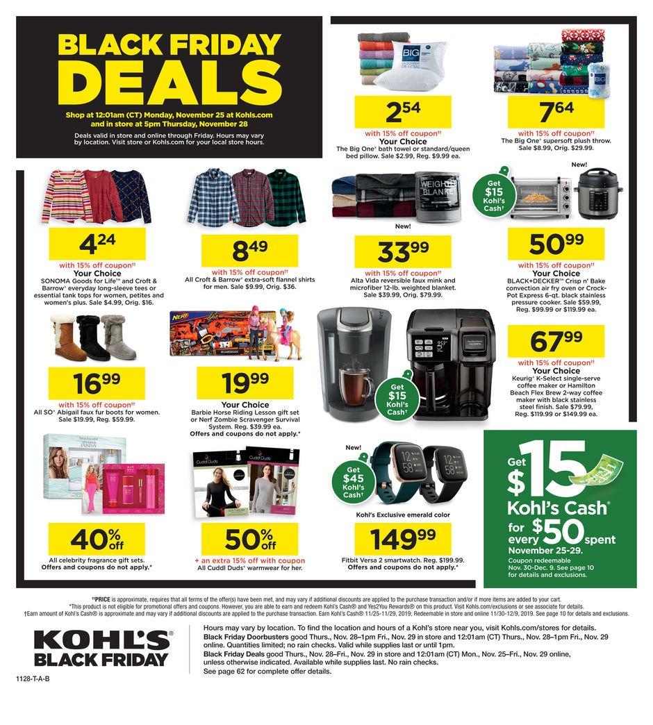 Kohl's Black Friday 2019 Page 64