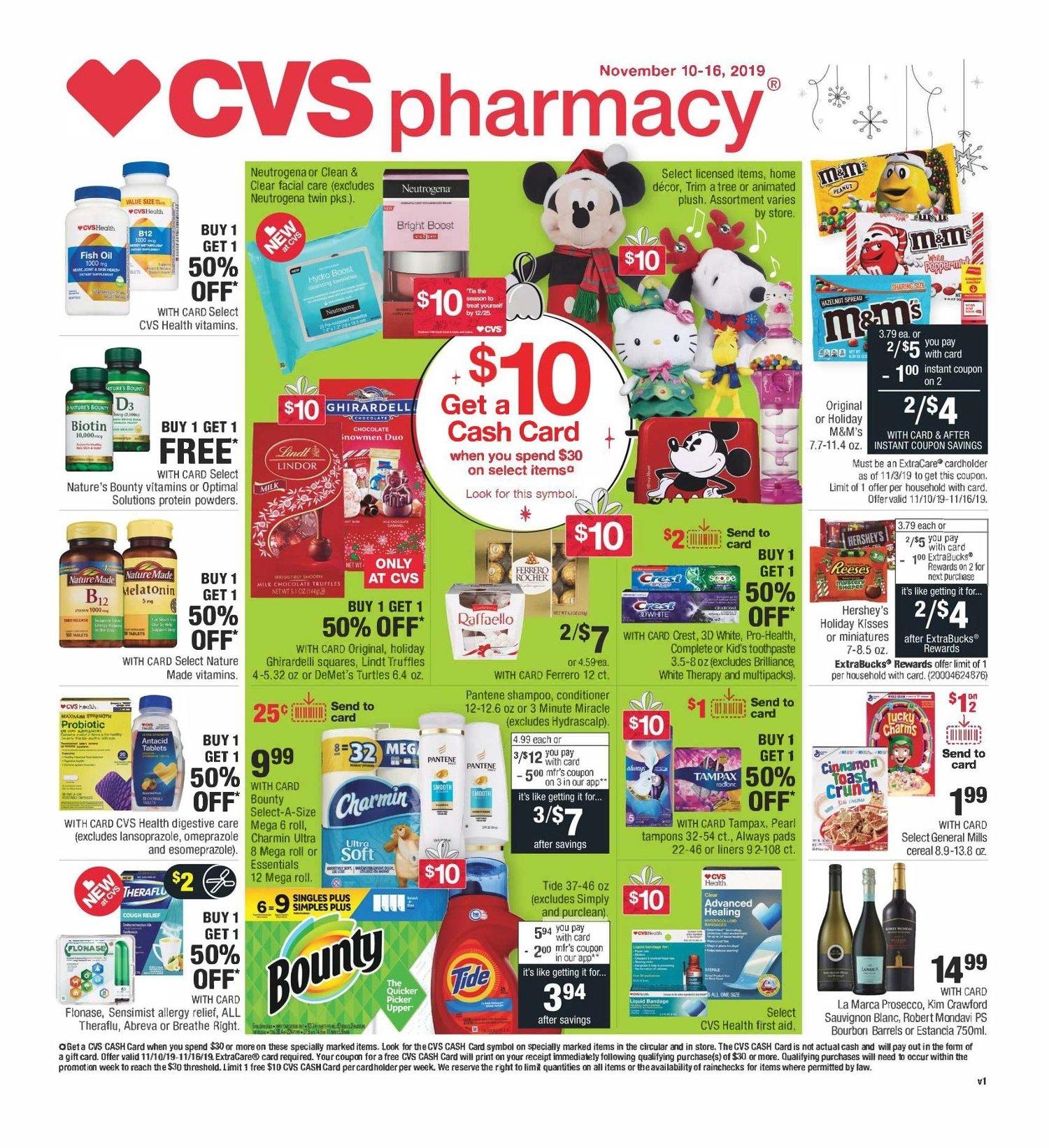 CVS Weekly November 10 - 16, 2019 Page 1