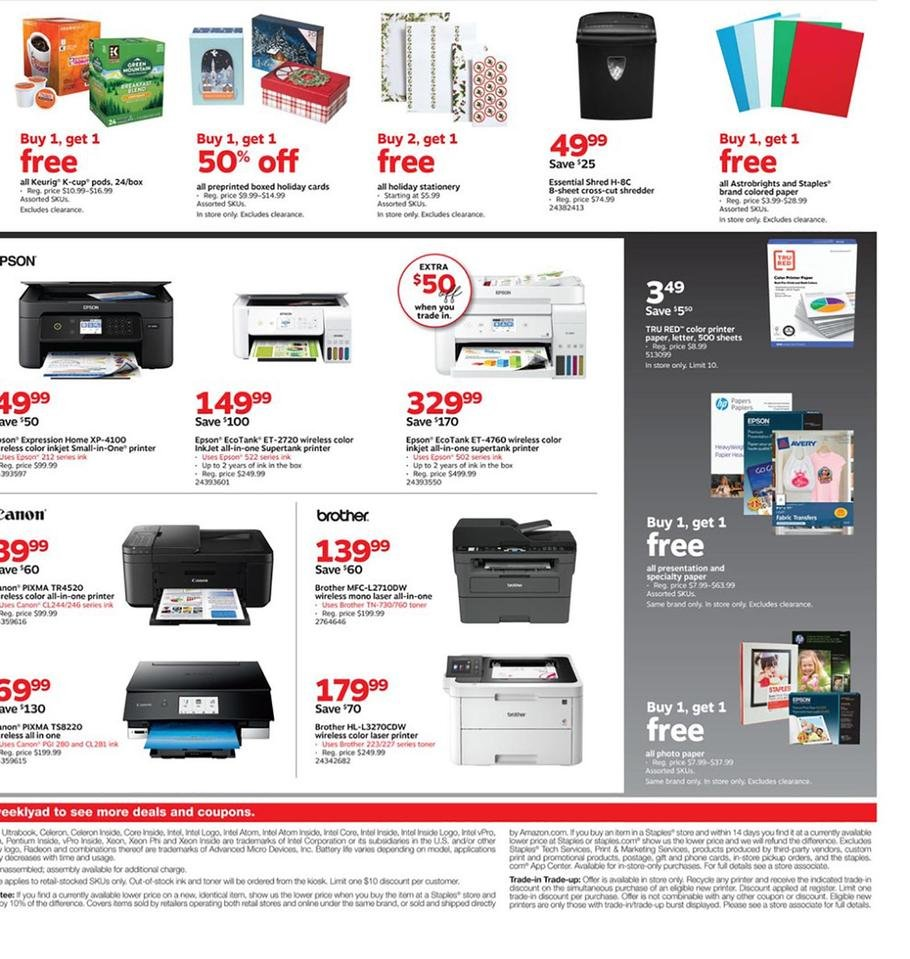 Staples Black Friday 2019 Page 6