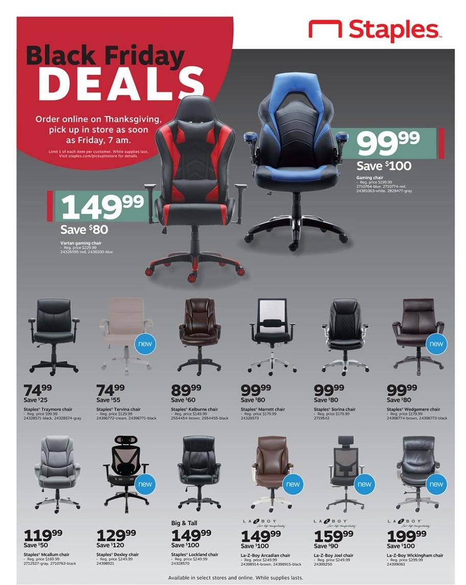 Staples Black Friday 2019 Page 7