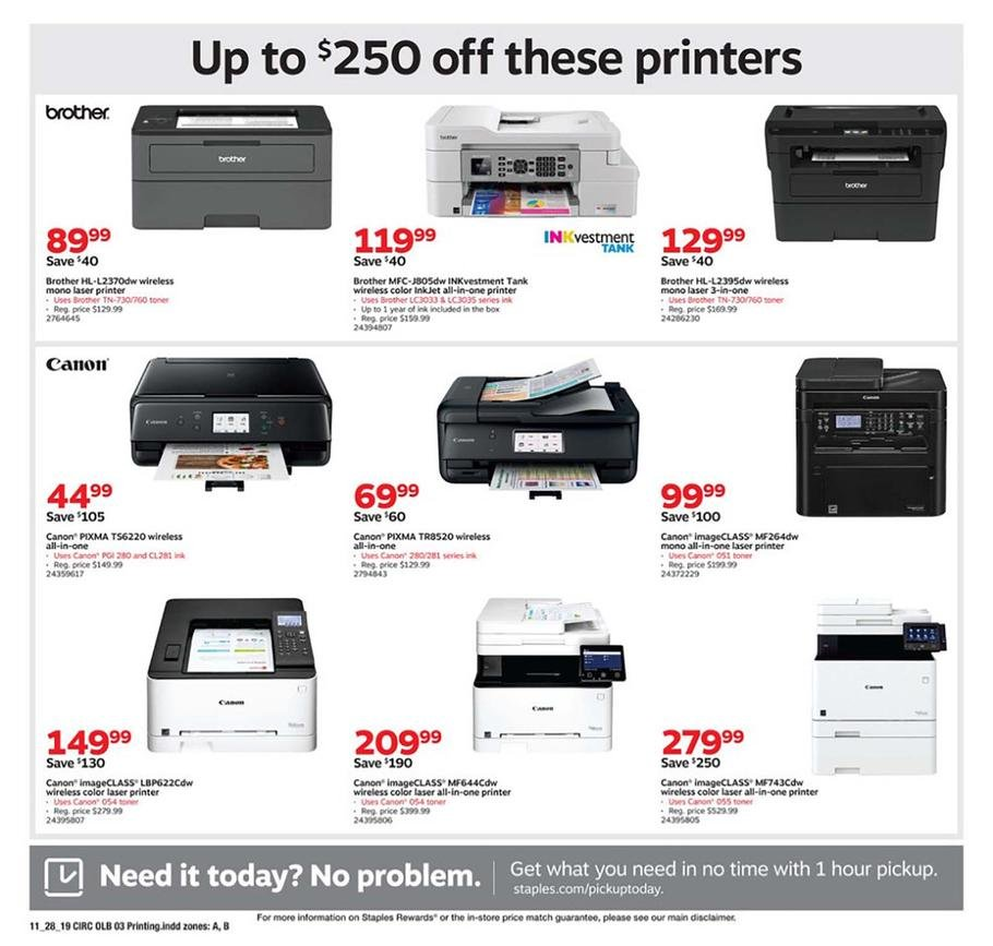 Staples Black Friday 2019 Page 11