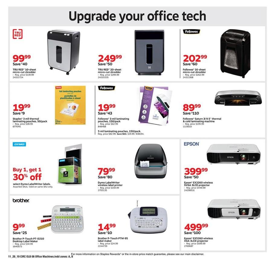 Staples Black Friday 2019 Page 14
