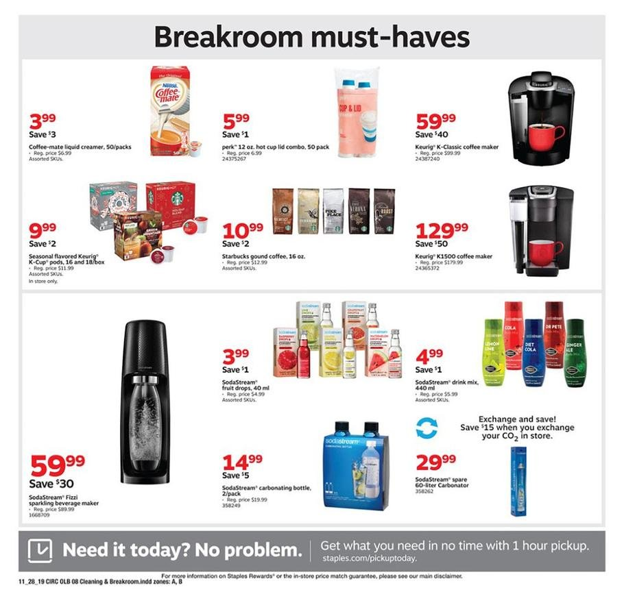 Staples Black Friday 2019 Page 16