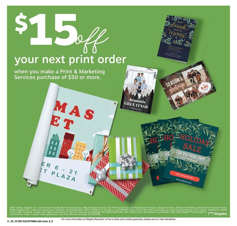 Staples Black Friday 2019 Page 17