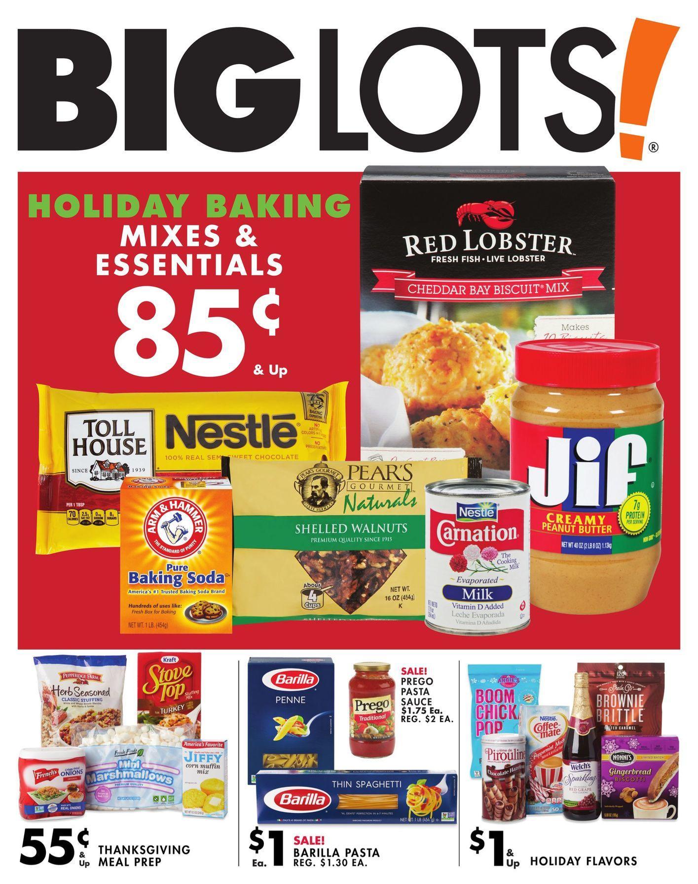 Big Lots Weekly November 9 - 16, 2019 Page 18