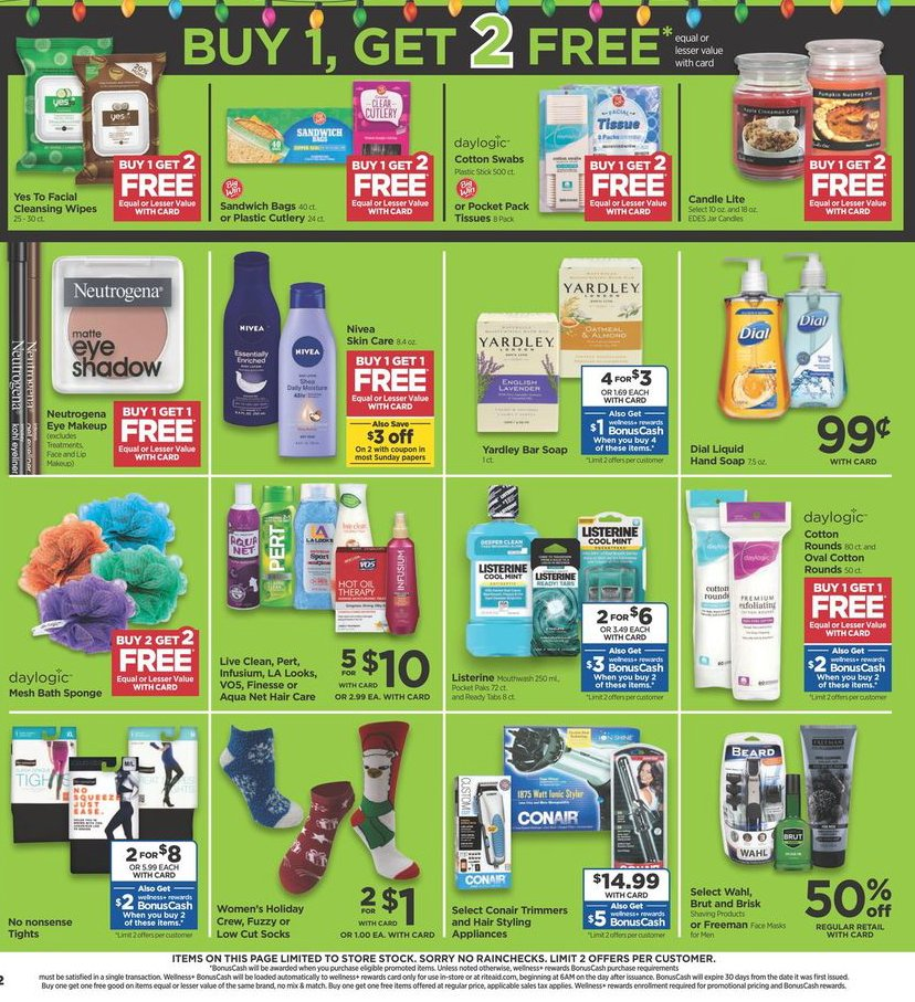 Rite Aid Black Friday 2019 Page 4