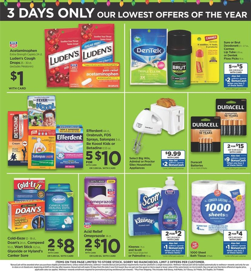 Rite Aid Black Friday 2019 Page 6