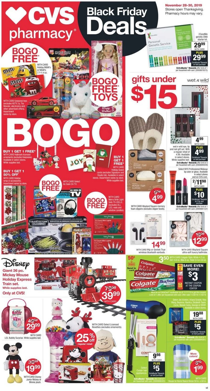 CVS Black Friday 2019 Page 1