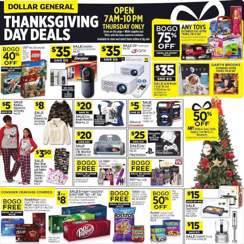 Dollar General Black Friday 2019 Page 1