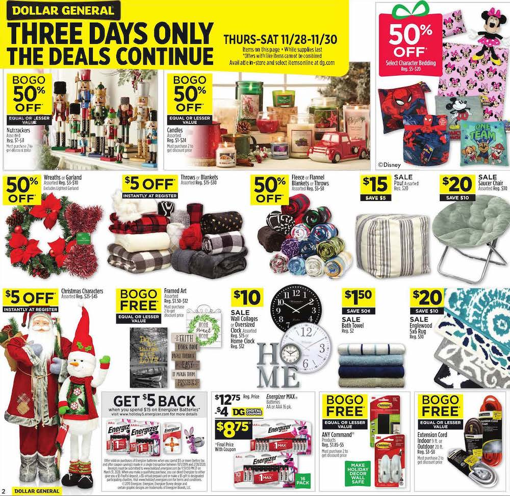Dollar General Black Friday 2019 Page 2