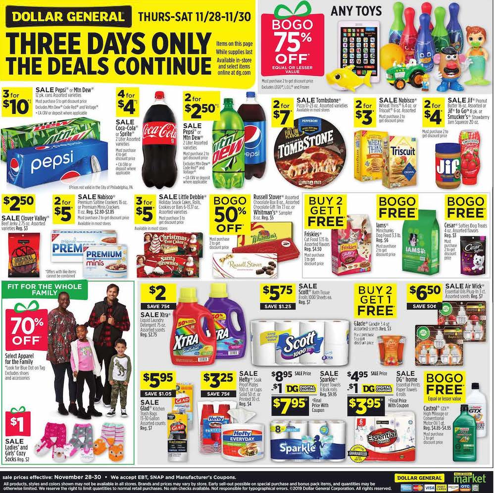 Dollar General Black Friday 2019 Page 4