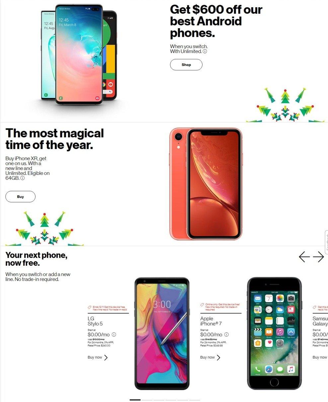 Verizon Wireless Black Friday 2019 Page 2