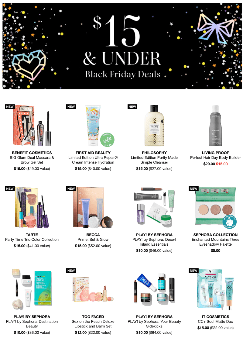 Sephora Black Friday 2019 Page 1