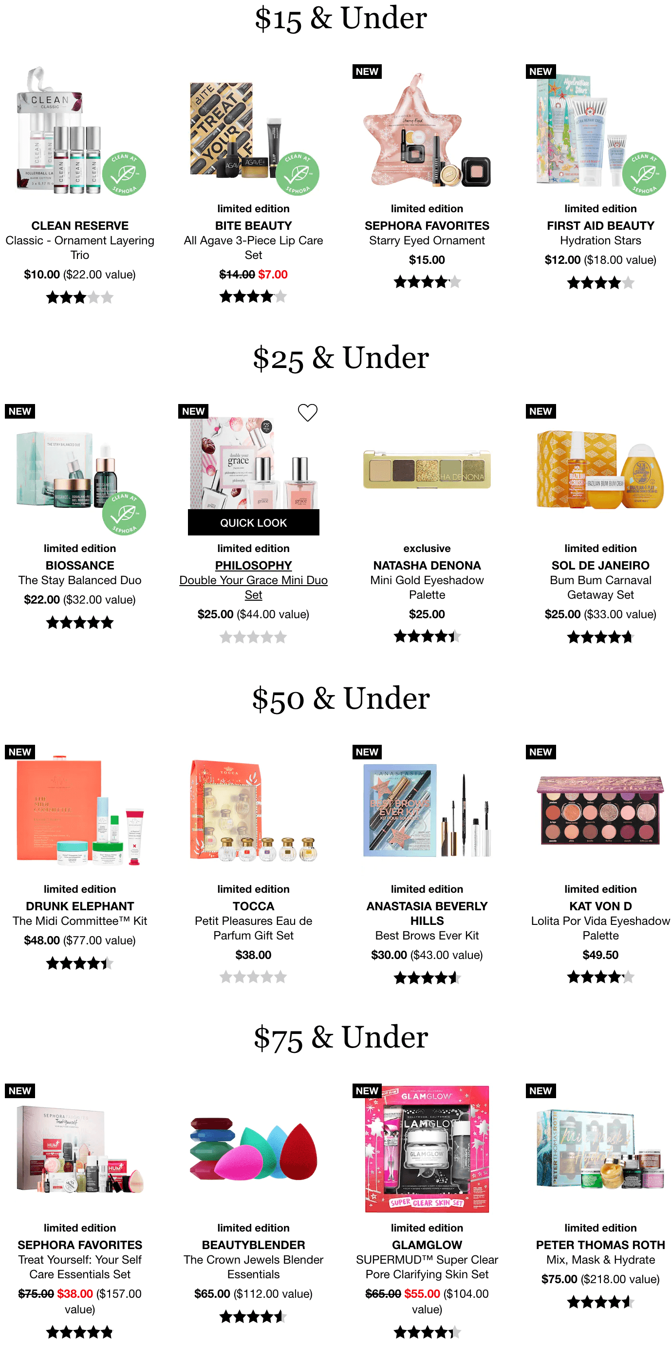 Sephora Black Friday 2019 Page 4
