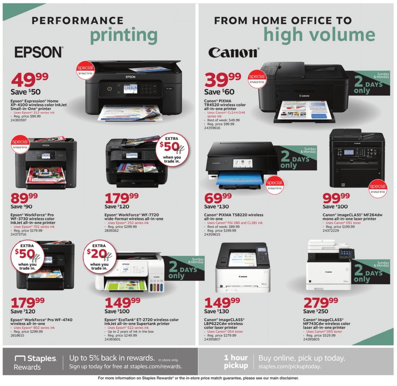 Staples Cyber Monday 2019 Page 3