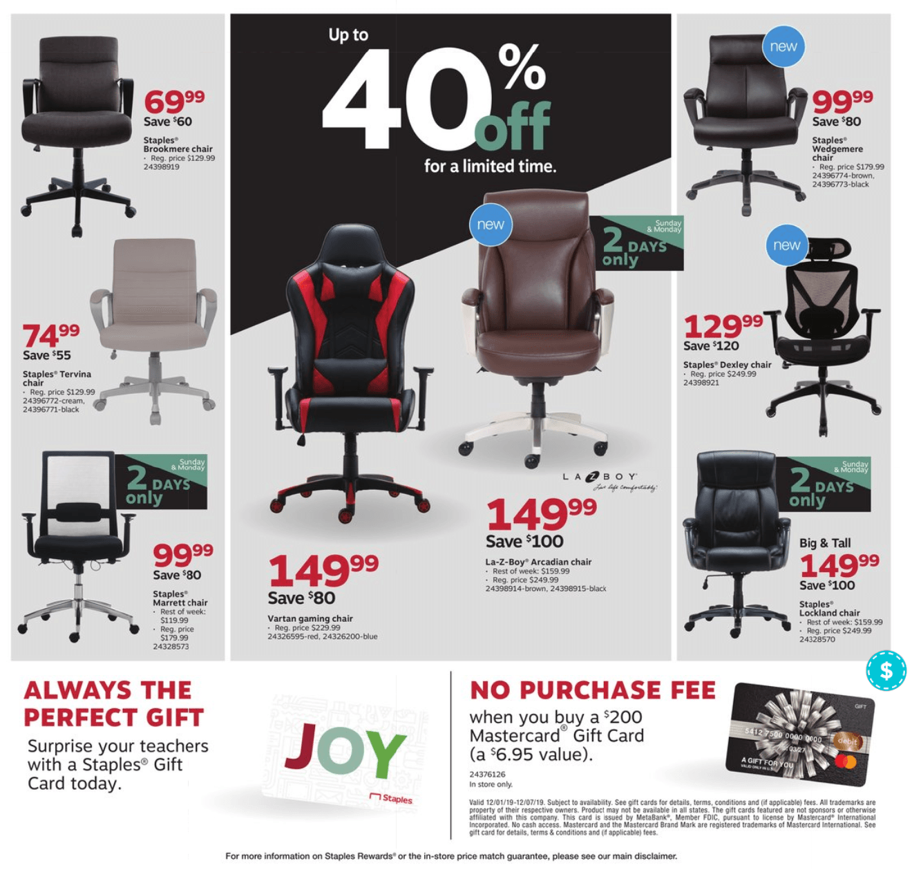 Staples Cyber Monday 2019 Page 7
