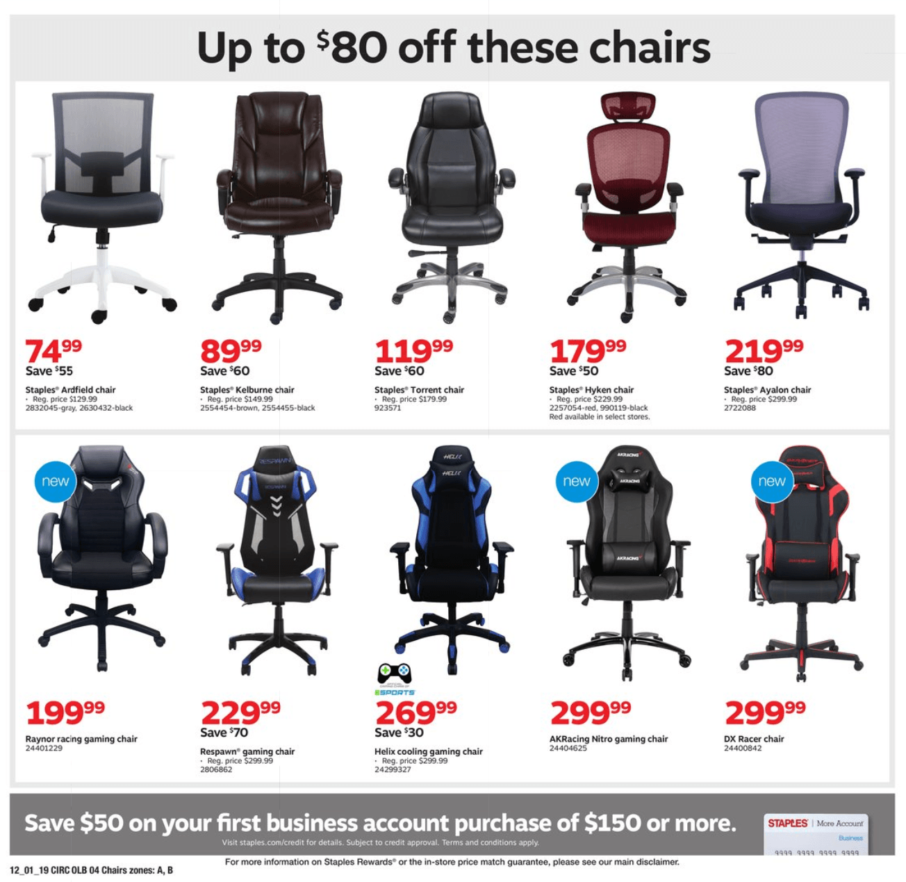 Staples Cyber Monday 2019 Page 12