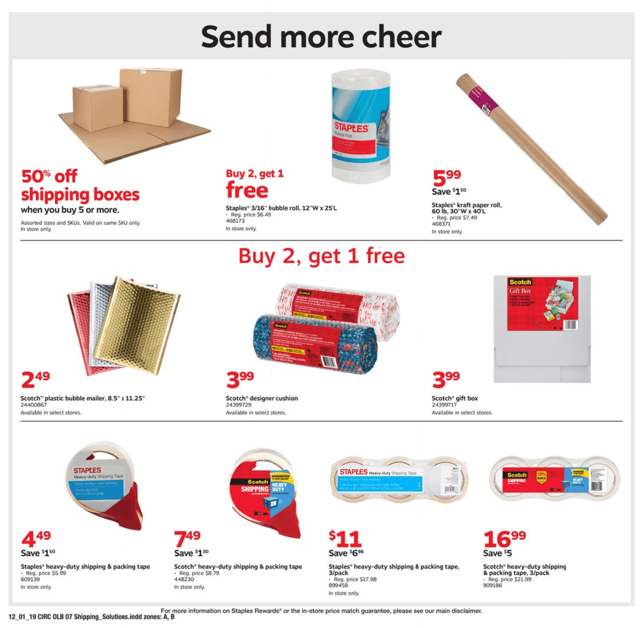 Staples Cyber Monday 2019 Page 15