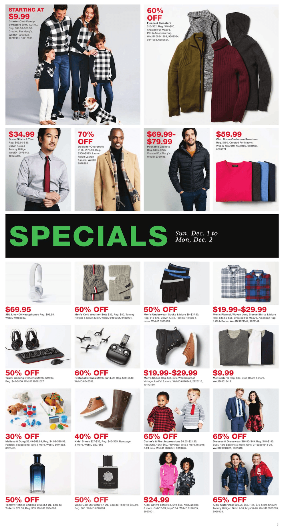 Macy's Cyber Monday 2019 Page 3