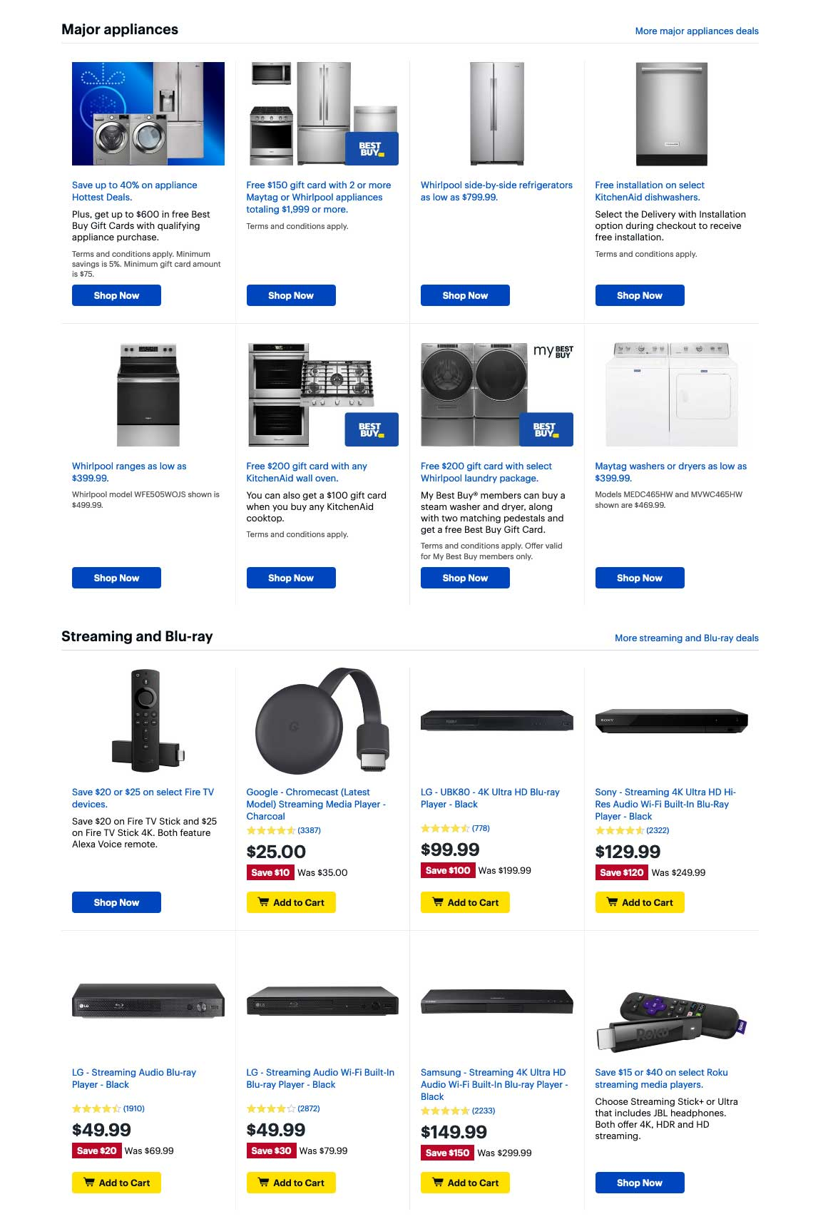 Best Buy Cyber Monday 2019 Page 3