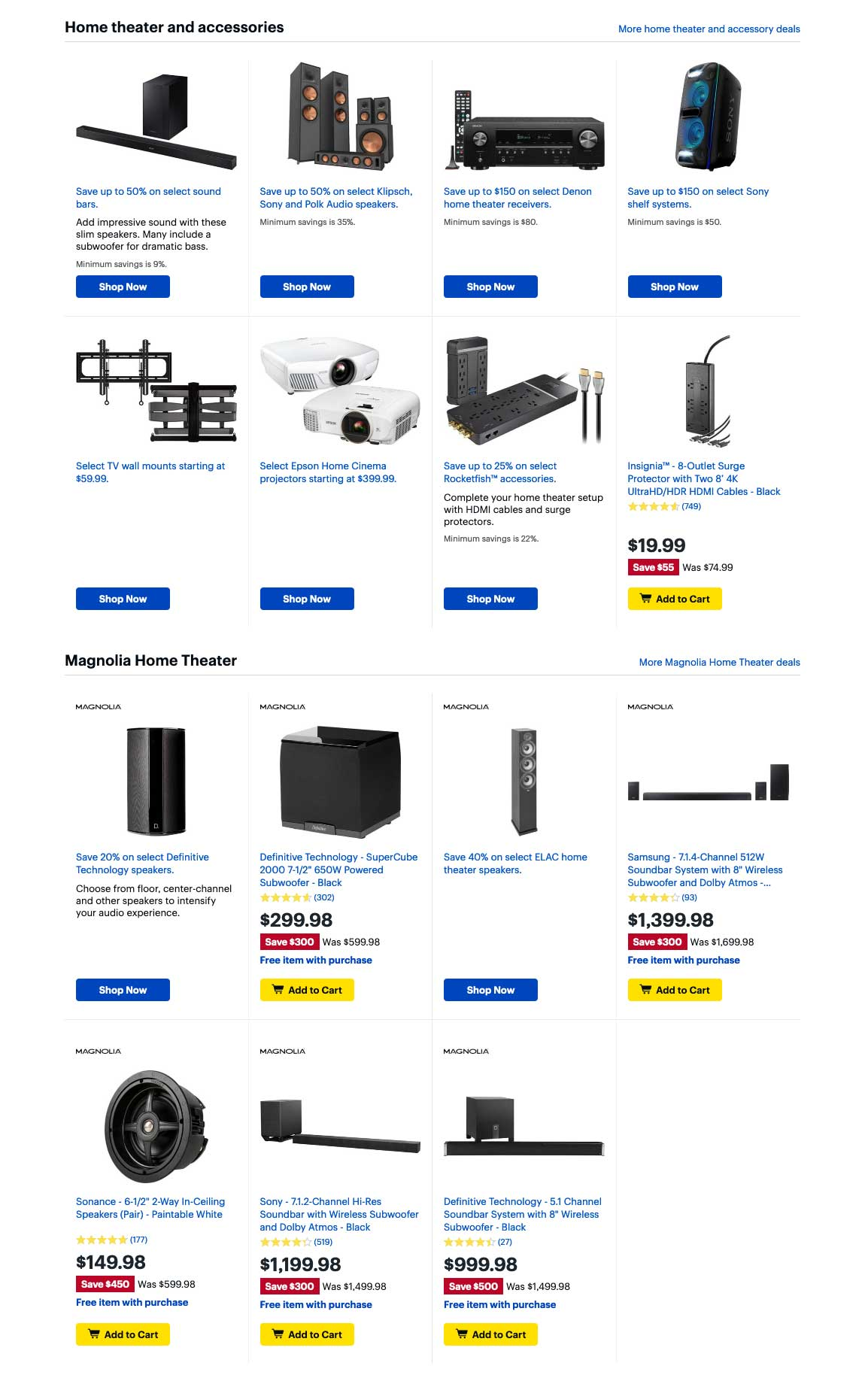 Best Buy Cyber Monday 2019 Page 4