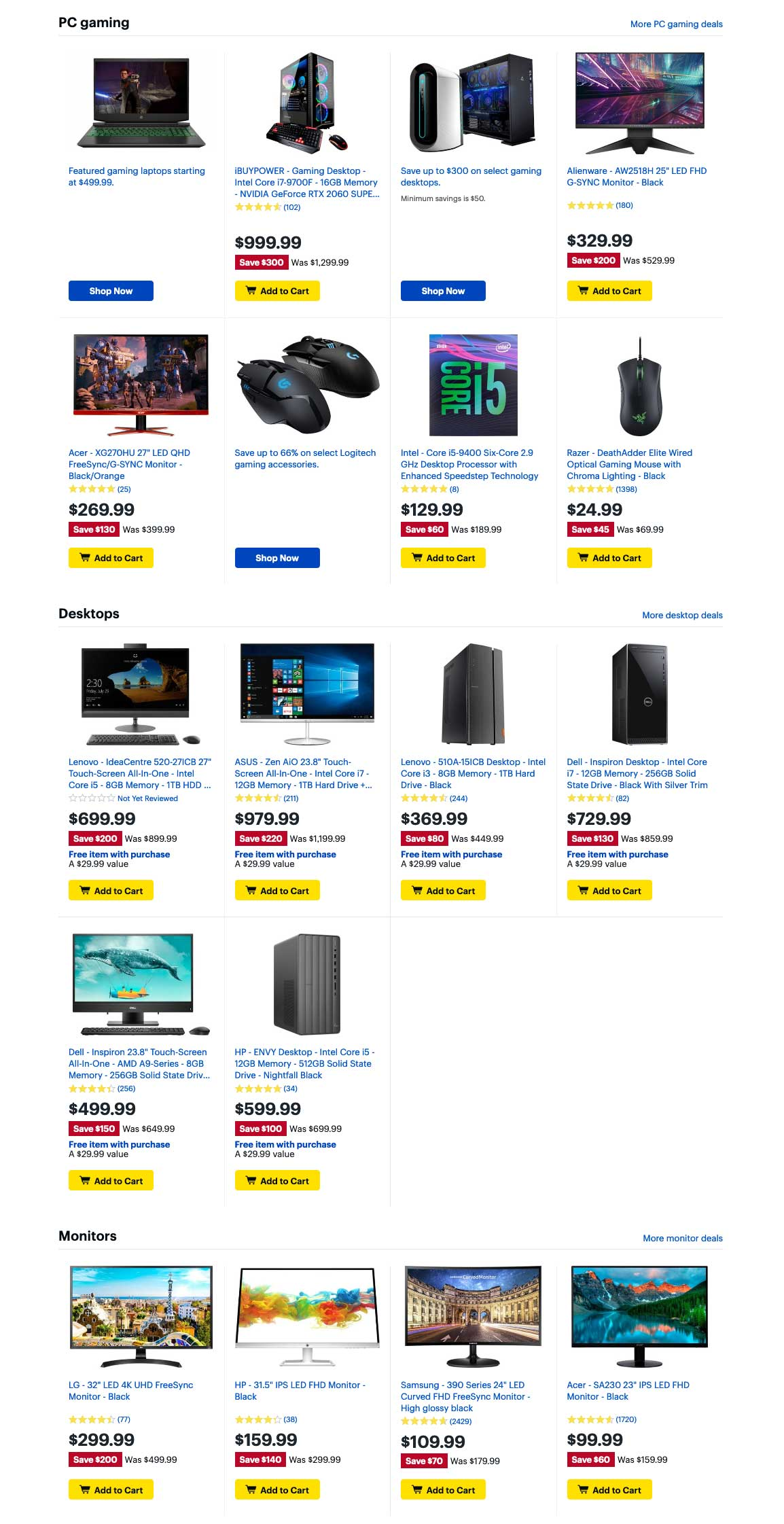 Best Buy Cyber Monday 2019 Page 5