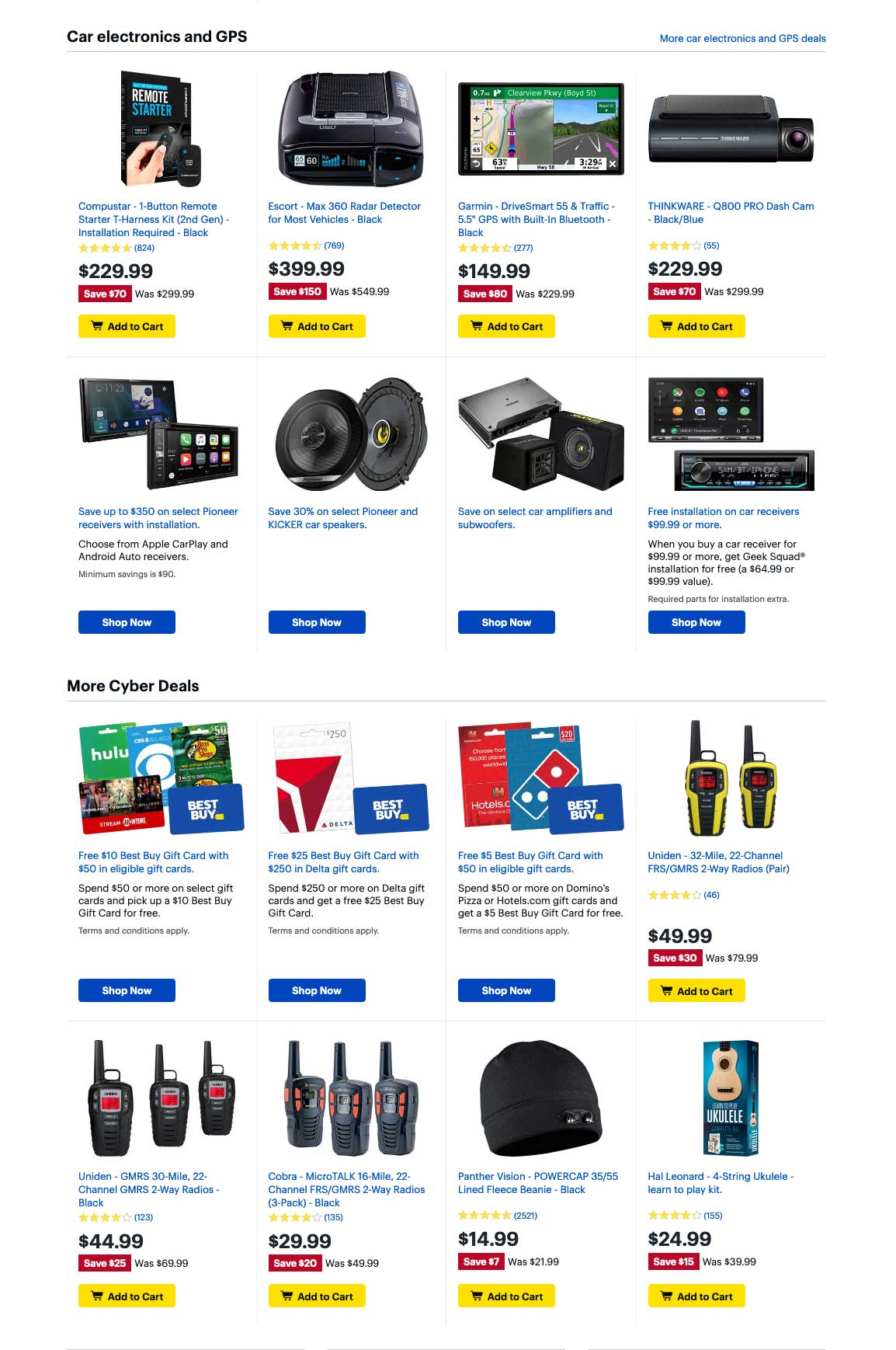 Best Buy Cyber Monday 2019 Page 13