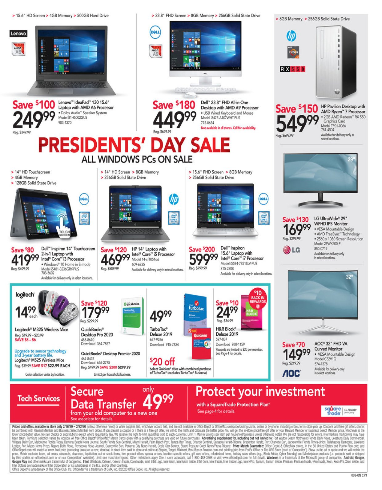 Office Depot and OfficeMax Weekly February 16 - 22, 2020 Page 3