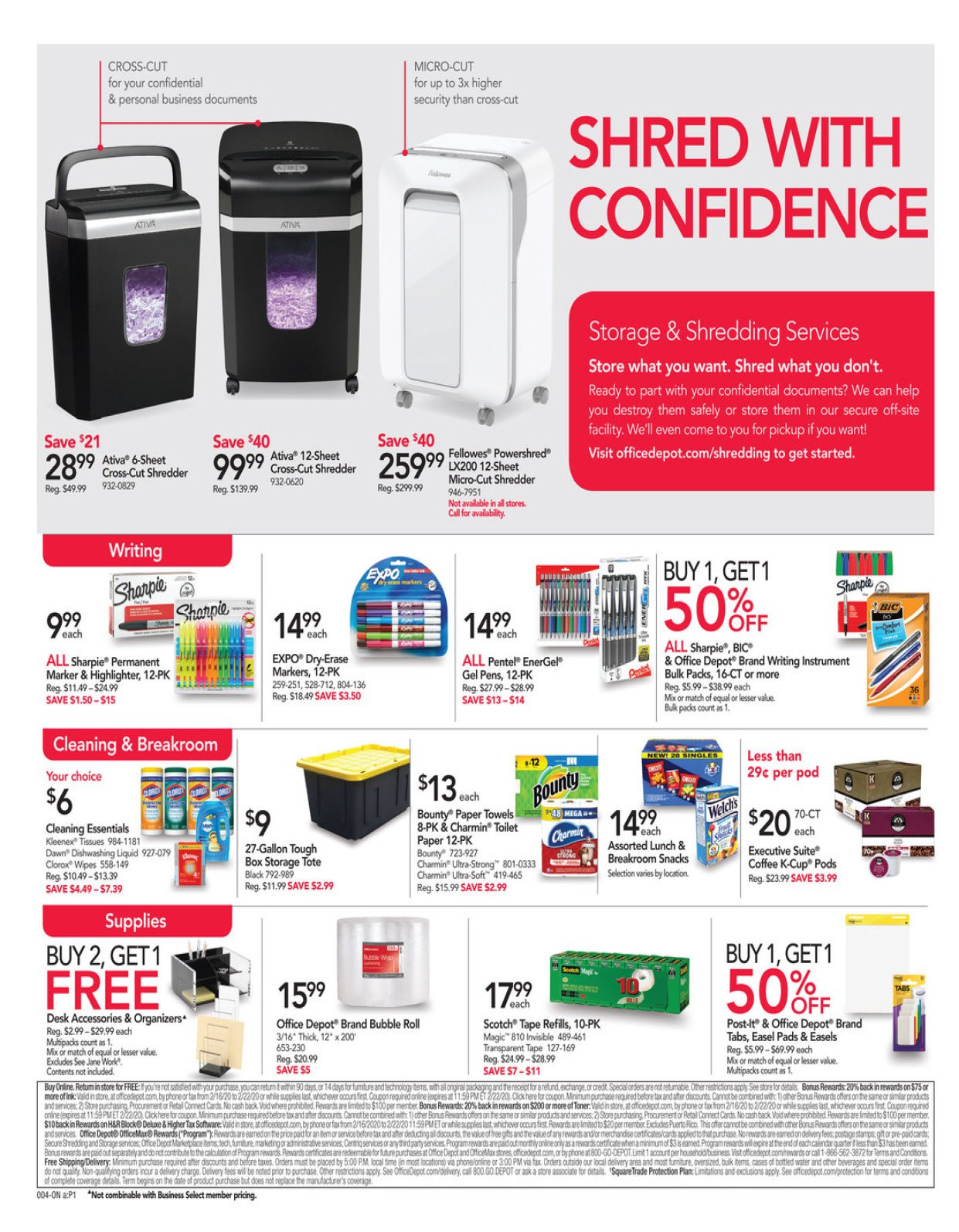 Office Depot and OfficeMax Weekly February 16 - 22, 2020 Page 4