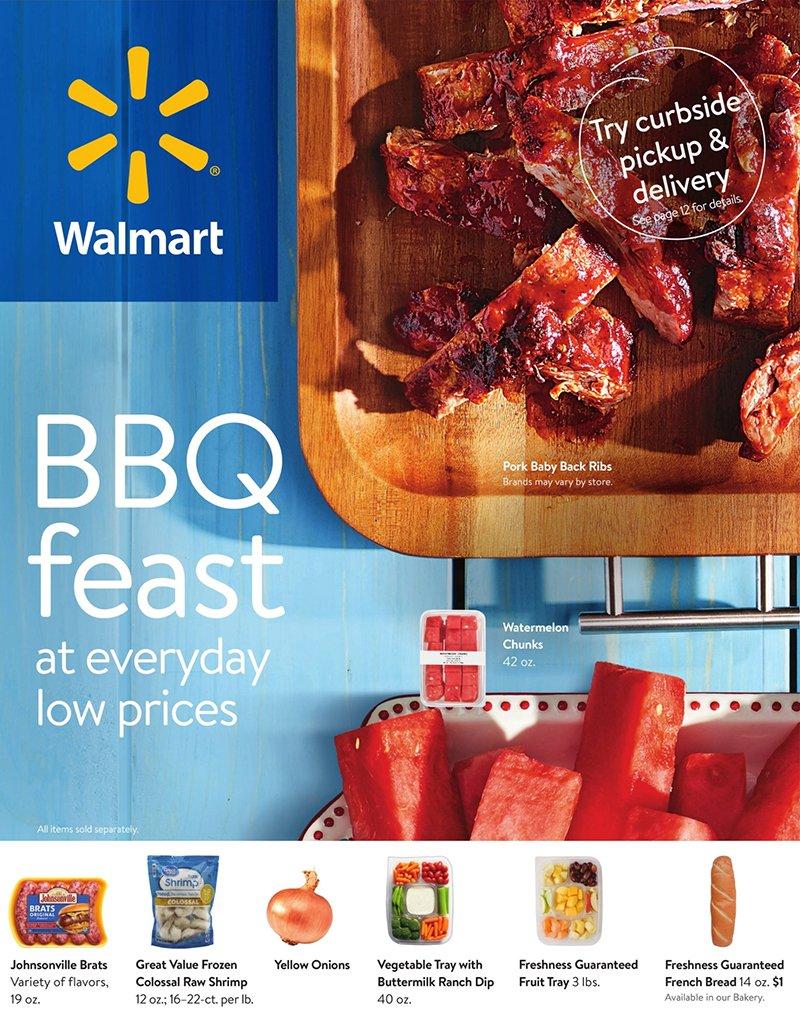 Walmart Weekly June 24 - July 28, 2020 Page 1