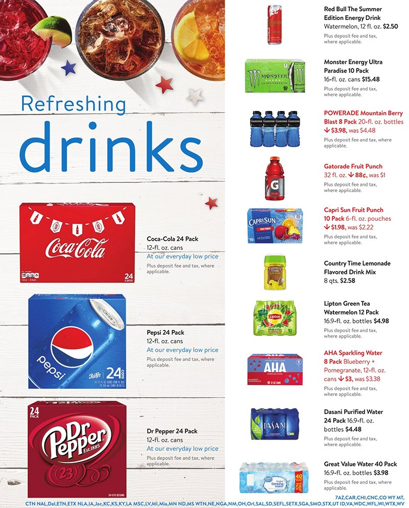 Walmart Weekly June 24 - July 28, 2020 Page 7