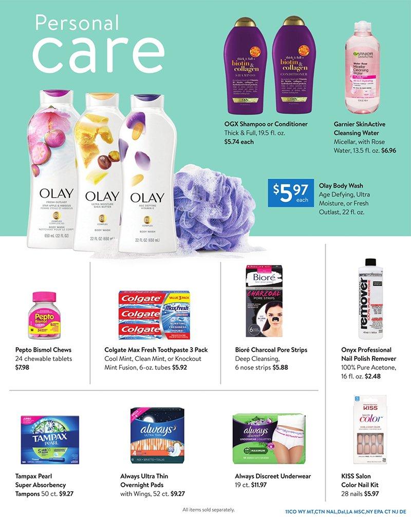 Walmart Weekly June 24 - July 28, 2020 Page 11
