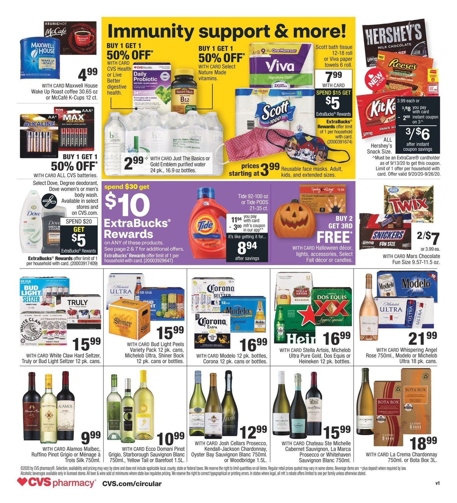 CVS Weekly September 20 - 26, 2020 Page 2
