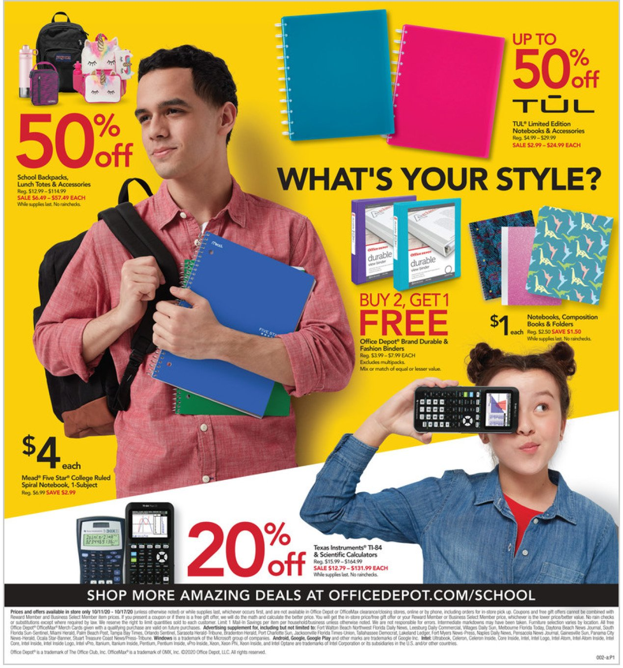 Office Depot and OfficeMax Weekly October 11 - 17, 2020 Page 2