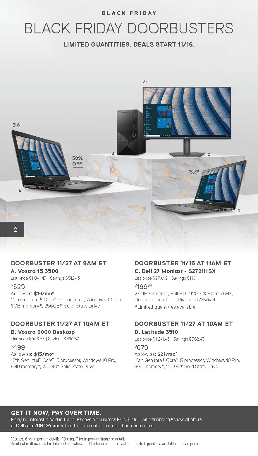 Dell Small Business Black Friday 2020 Page 2