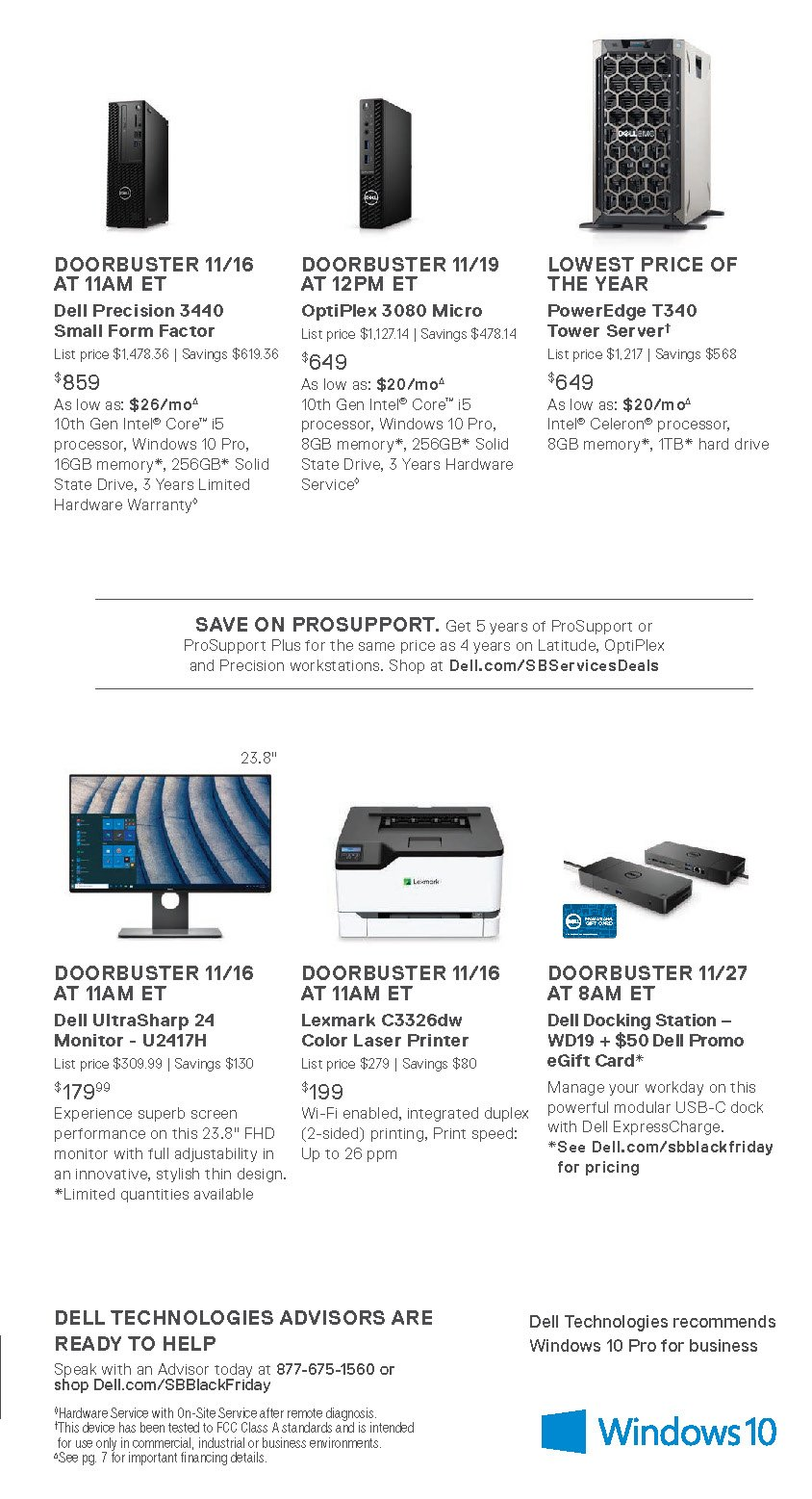 Dell Small Business Black Friday 2020 Page 3